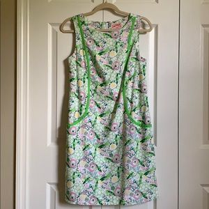 Lilly Pulitzer Queen of Green shift size 6